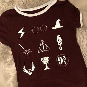 Tops - Harry Potter Ringer Tee
